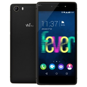 Wiko Fever fond blanc