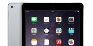 iPad Air 2 fond blanc