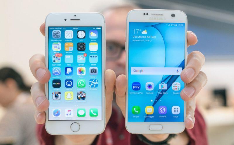 iPhone 6s Galaxy S7