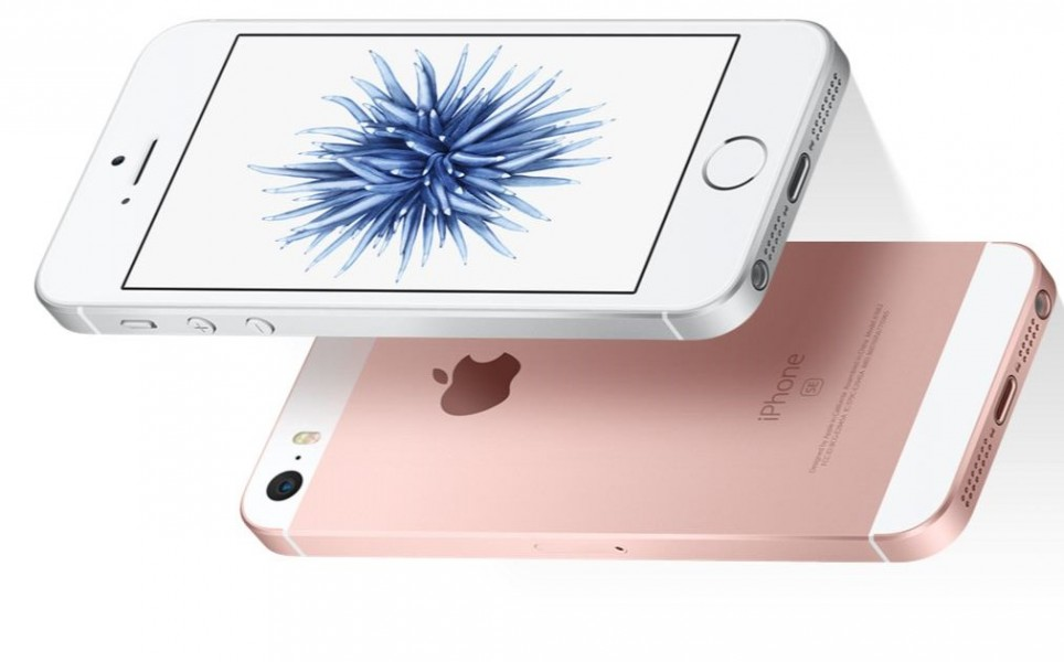 iPhone SE couleur rose