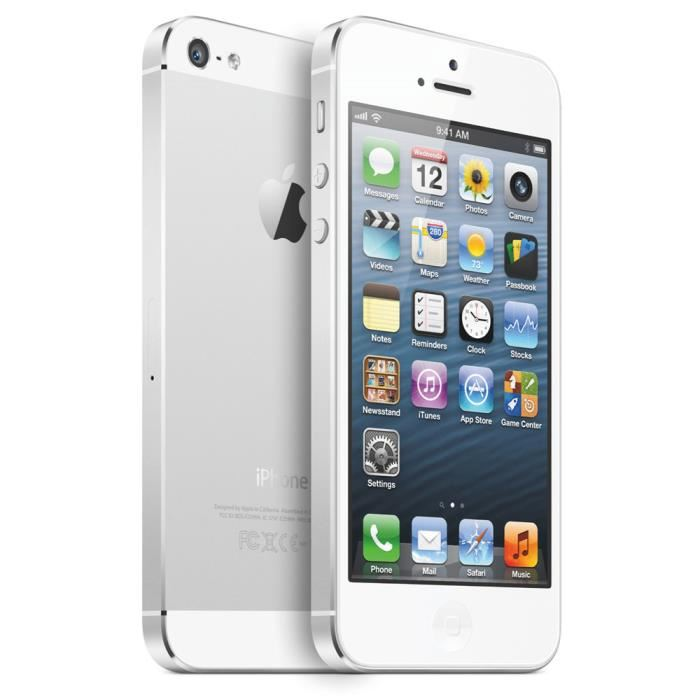 iphone 5S argent