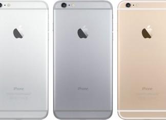 iphone 6 gamme de couleurs
