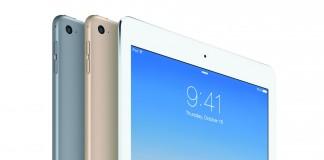 les 3 couleurs de l'iPad air 2 4G 16 Go