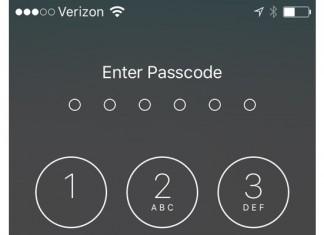 pas besoin du code de deverrouillage de l'iPhone 6S Plus
