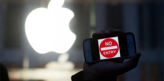Apple no entry