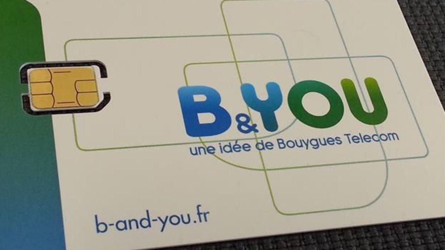 Forfait B&YOU 50 Go de Bouygues Telecom à 4.99 euros encore prolongé !