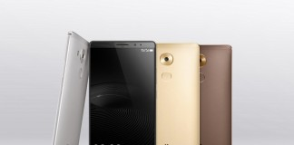 Huawei Mate 8 coloris fond gris