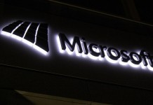 Microsoft fond noir