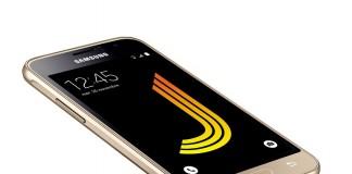 Samsung Galaxy J1 en Or