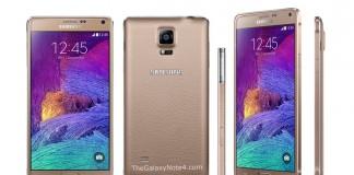Samsung Galaxy Note 4 Or