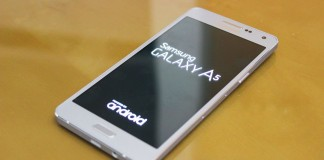 Samsung Galaxy A5 table