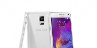 Samsung galaxy note 4 en blanc
