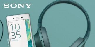 Sony Xperia X + casque h.ear On