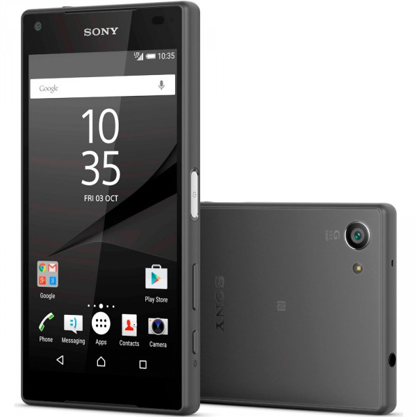 Sony Xperia Z5 Compact fond blanc
