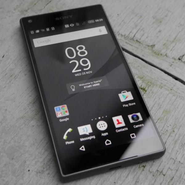Sony Xperia Z5 table