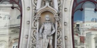 Statue Dom Sebastiao 1er