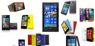 Windows phone sélection