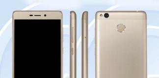 Xiaomi Redmi 3A concept