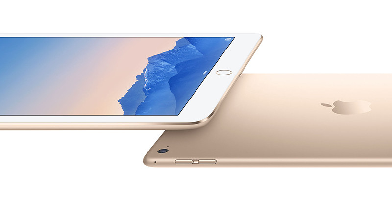 iPad Air 2 en or