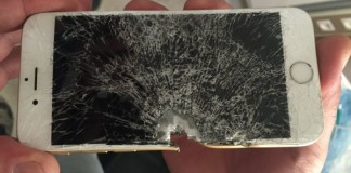 iPhone turc cassé