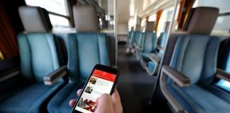 test réseau sur la ligne TGV Paris-Lyon