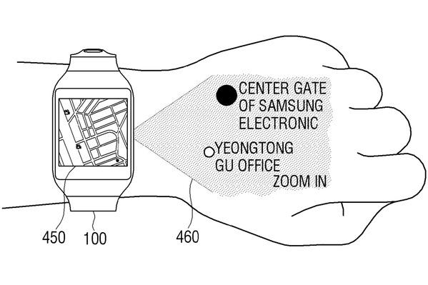 une-smartwatch-avec-pico-projecteur-dans-les-cartons-de-samsung
