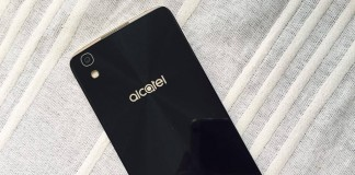 Alcatel Idol 4S autre face