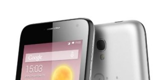 Alcatel One Touch Pixi 3 fond blanc