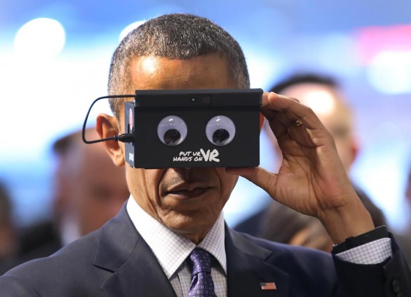 Barack Obama VR