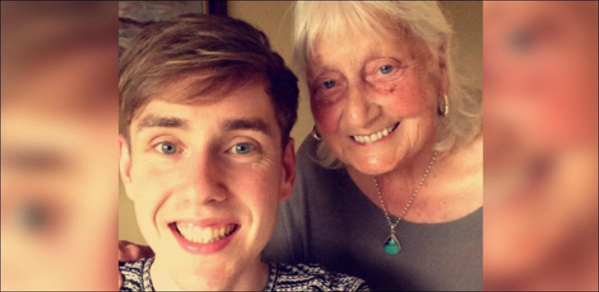 Grand-mère de Ben John