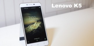 Lenovo K5 fond blanc