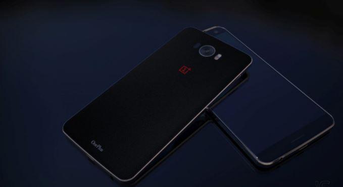OnePlus 3 fond noir
