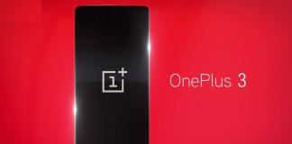 OnePlus 3 fond rouge