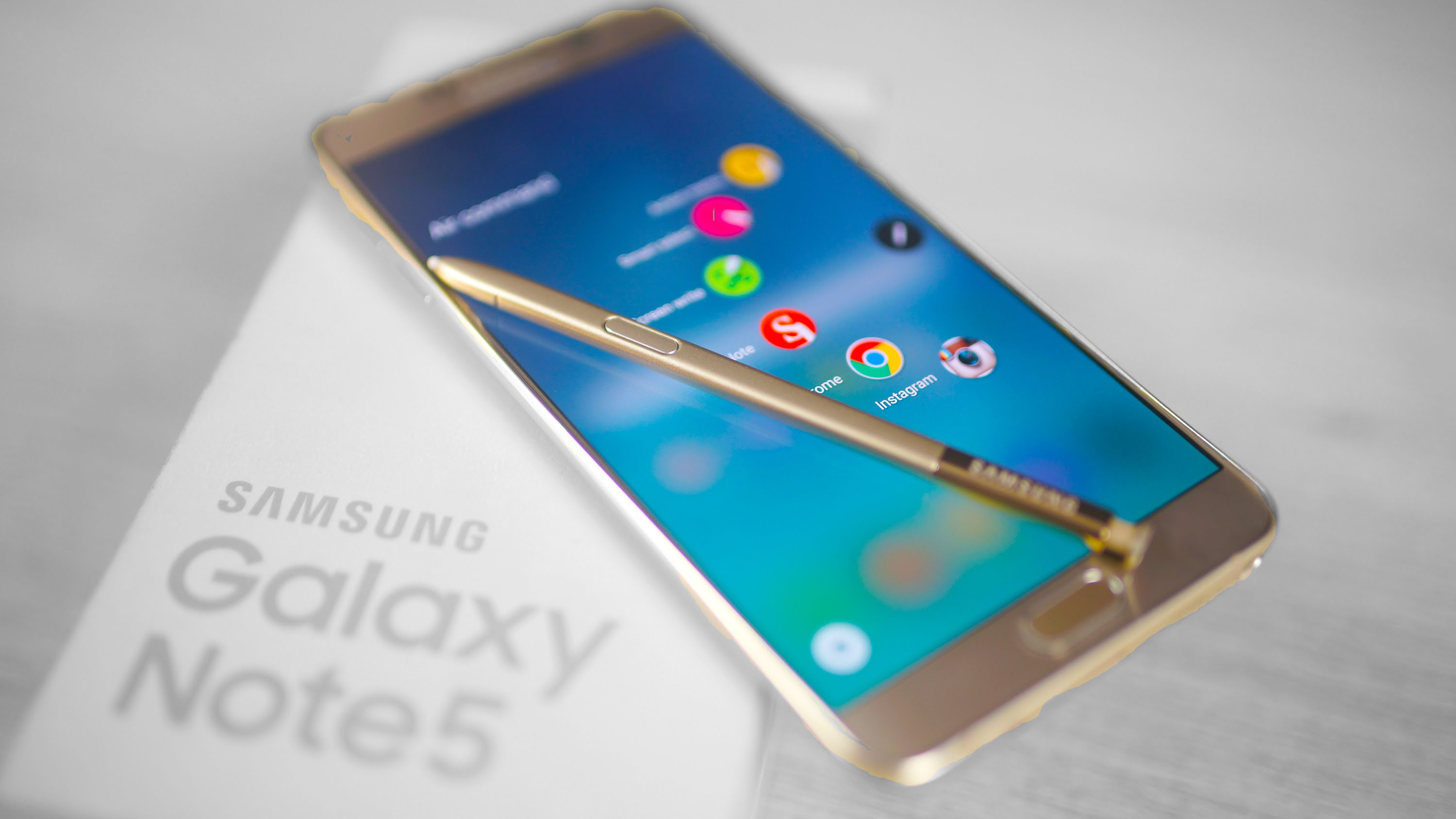 Samsung Galaxy Note 5 table