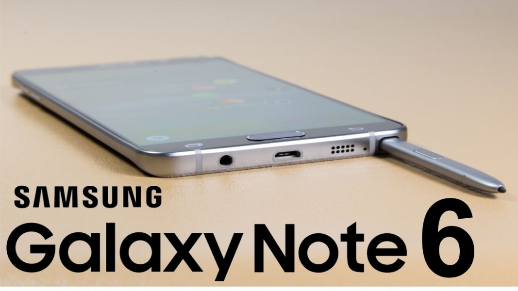 Samsung Galaxy Note 6 table