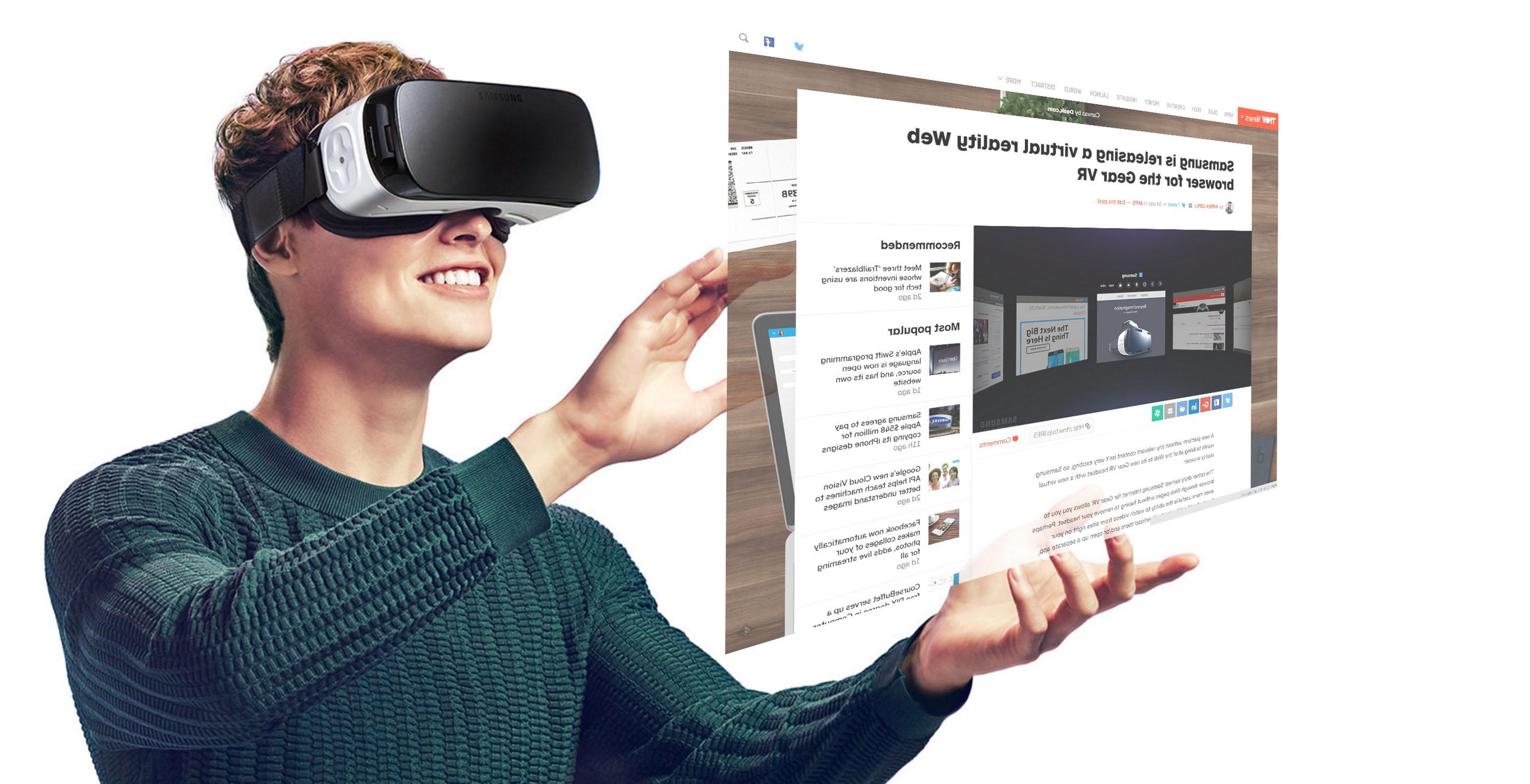 Samsung : deux nouveaux casques VR et de l'AR dans les tuyaux