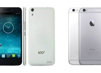 baili 100 c vs iPhone 6