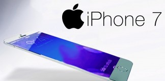 iPhone 7 fond blanc