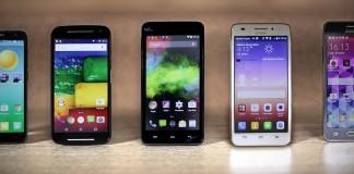 smartphones sélections