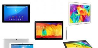 tablettes 10 pouces sélection