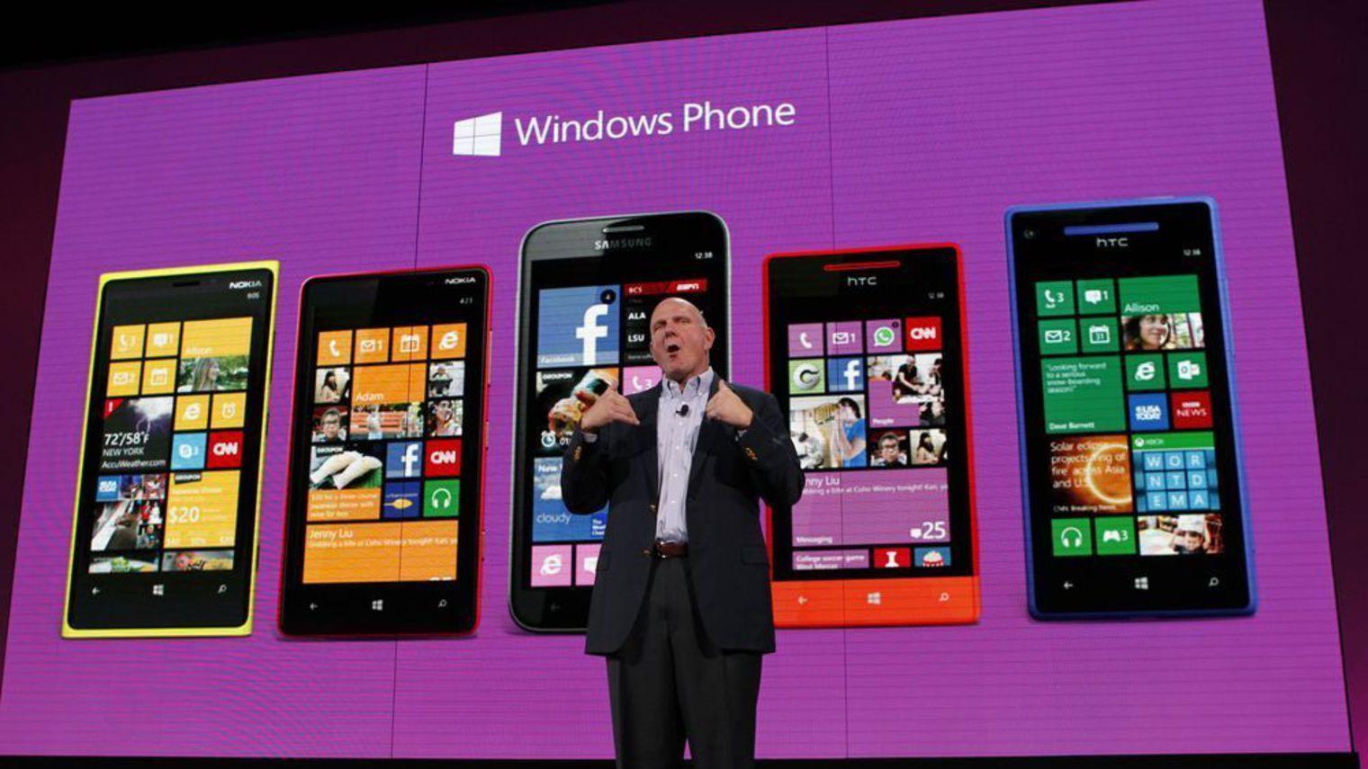 windows phone gamme