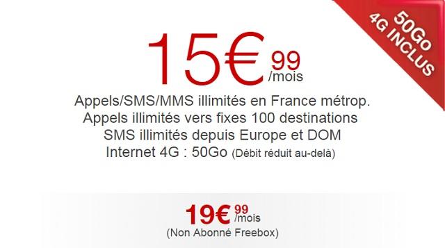 free une offre d mente de 50 go d 39 internet pour 19 99 meilleur mobile. Black Bedroom Furniture Sets. Home Design Ideas