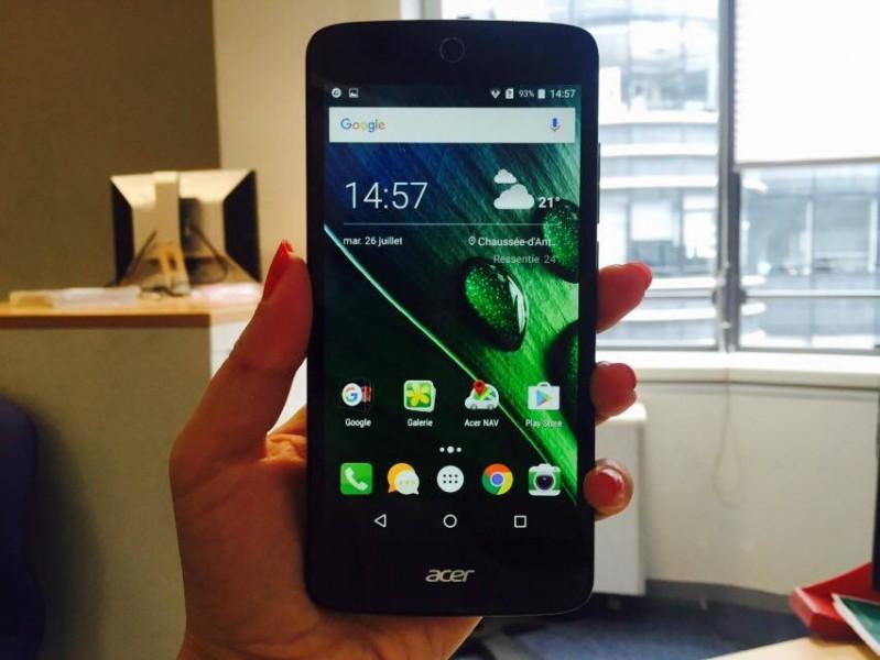 Acer Liquid Zest 4G face