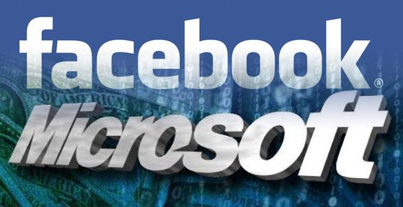 Microsoft facebook collaboration