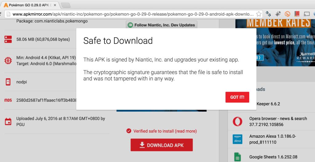 apk safe