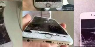 Chinois cassent téléphone