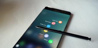 Samsung Galaxy Note 7 stylet