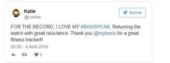 Tweet Basis Peak