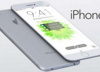 iPhone 7 fond gris