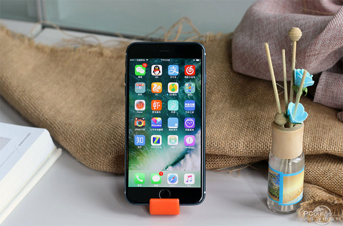 iphone 7 fonctionnel bleu